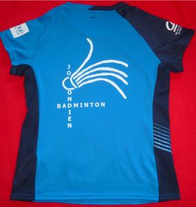 tee shirt badminton dos